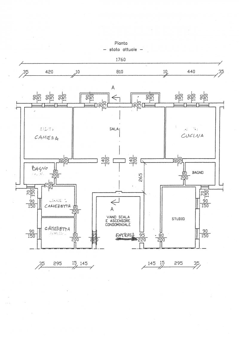 appartamento 190 metri - 公寓190米